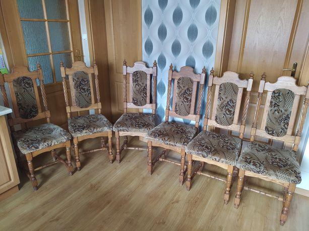Krzesła drewniane pokojowe