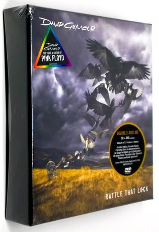 David Gilmour - Rattle That Lock, Deluxe Edition CD + DVD - Box