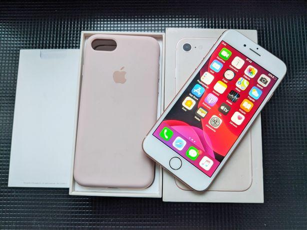 iPhone 8 64 GB Gold +Etui Apple