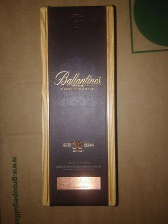 Pudełko po whisky drewniane