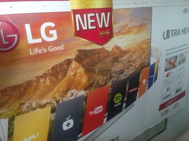 """Telewizor LG UHD LED 43 """" 4K, smart tv"""