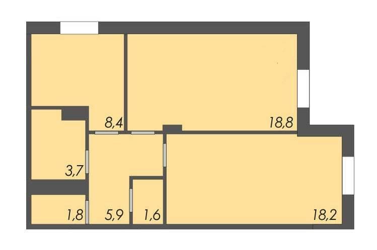 Продам 2-х комнатную квартиру в новом сданном доме Одесса - изображение 1