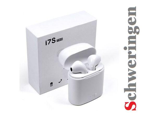 Słuchawki bluetooth i7s SCHWERINGEN Bezprzewodowe 2020 HiT !!!