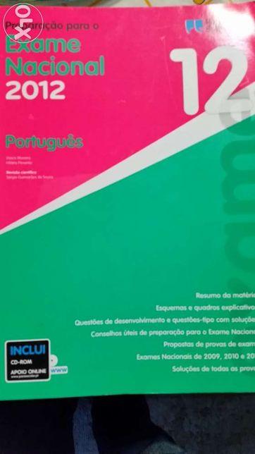 Exame Nacional 12 ano Português, Matemática A e Física e Química A.