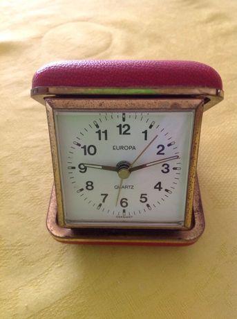 Relógio caixa made Germany Europa antigo a funcionar/Colecionadores