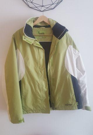 Nowa kurtka narciarska 38 śliczna zielono-biała Tchibo