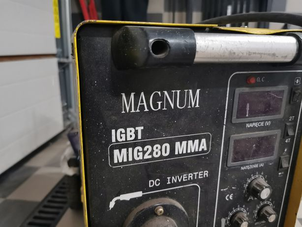 Spawarka MIG Magnum 280 Profi Inverter