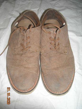 Туфли замшевые Toms 42р.