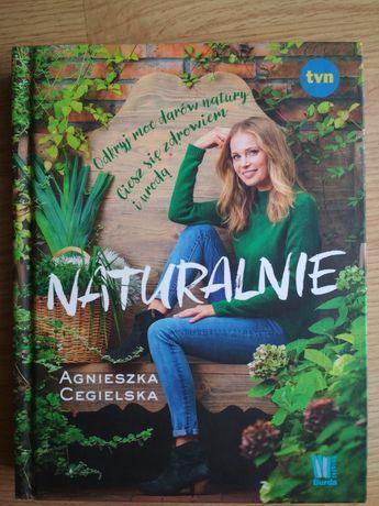 Książka Naturalnie Agnieszka Cegielska