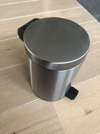 Kosz BRABANTIA na odpady 3l łazienka toaleta srebrny stal nierdzewna