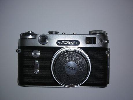 Aparat fotograficzny Zorki 6 (1959–1966), Zorka 6 fotograf, retro prl