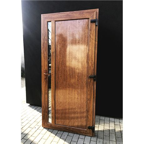 ZŁOTY DĄB 100x210 drzwi PCV *Nowe*