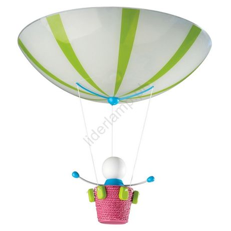 Philips Massive Lampa sufitowa Plafon dziecięcy MONTY 2xE27/60W