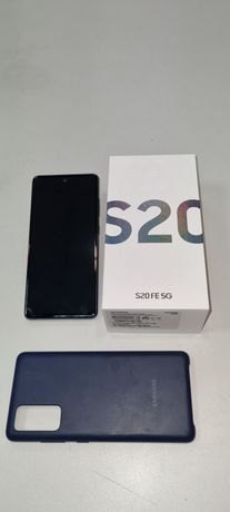 Samsung S20 FE 5G niebieski 128GB jak nowy.