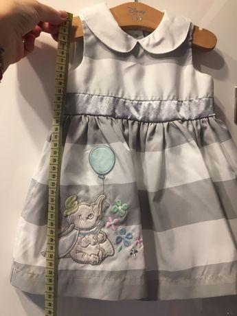 Komplet Disney sukienka i bolerko/ sweterek