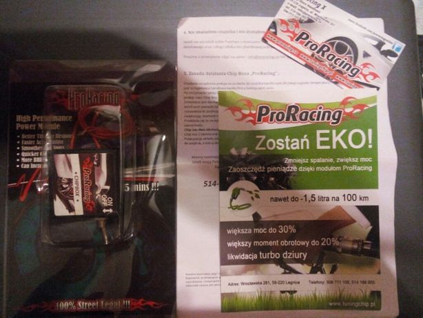 Chip Box Pro Racing tuning benzyna Sprzedam lub zamienię za grę PS4