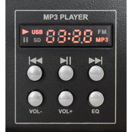 4-kanałowy mikser DJ STM3020B z USB czarny