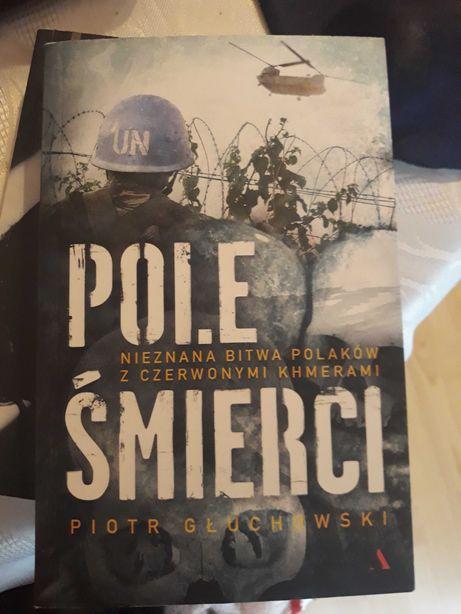 """Książka """"Pole śmierci"""", P. Głuchowski"""