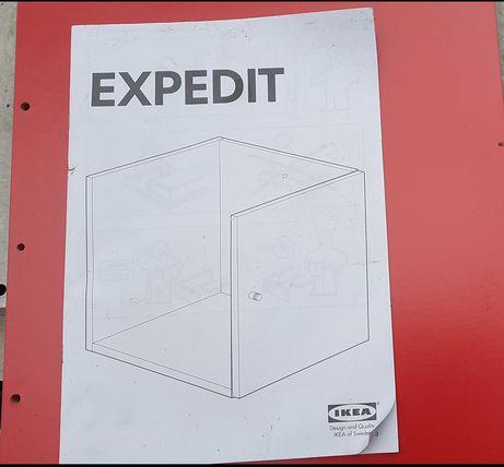 Armário porta para colocar nas estante Cubos (vermelho)