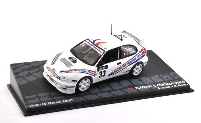 Toyota Corolla WRC S.Loeb #33 Tour Corse 2000 - 1/43