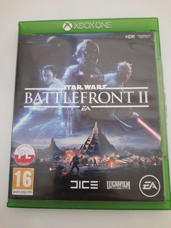 Star wars Battlefront 2 gra Xbox one