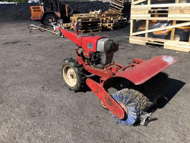 Traktorek jednoosiowy dzik honda f190 zamiatarka