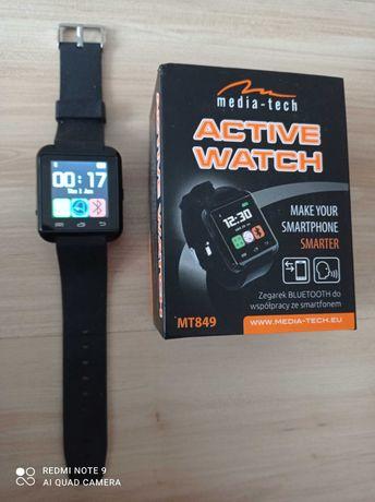 MEDIA-TECH MT856 Zegarek typu SMARTWATCH do komunikacji ze smartfonem