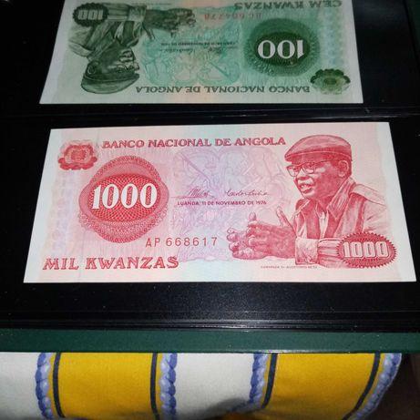 Notas Angola Kwanza