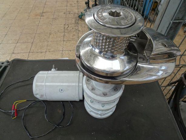 Guincho Lewmar eletrico para embarcação 24V 50A