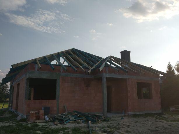 Usługi dekarskie, więźby dachowe, dachy