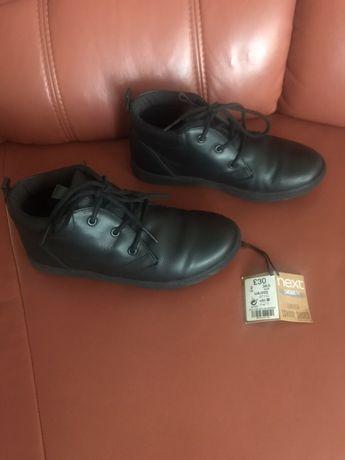 Ботинки кожа Next 34, uk 2, 21,5см кожа