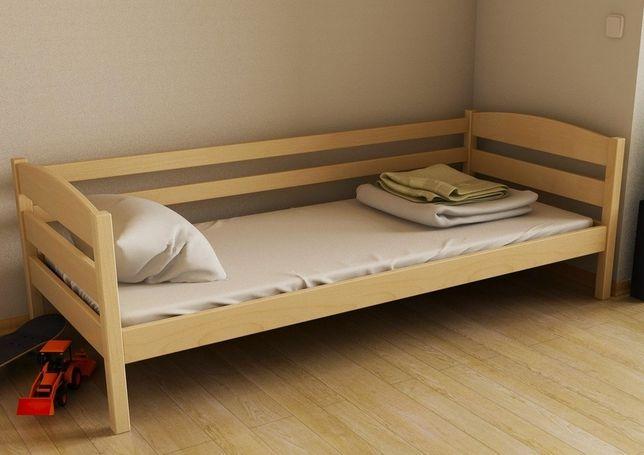 Букове ліжко Хюго розмір від 70х140 см до 90х200 см