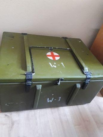 Skrzynia wojskowa duża medyczna