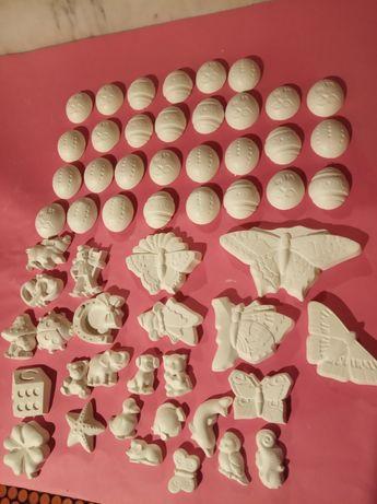 Figurki gipsowe zestaw 56 figurek