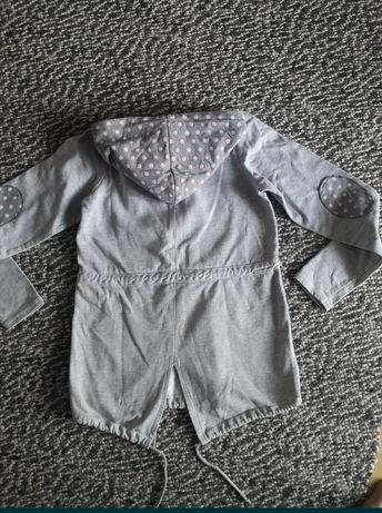Bawełniany płaszczyk /dłuższa bluza rozm. 152