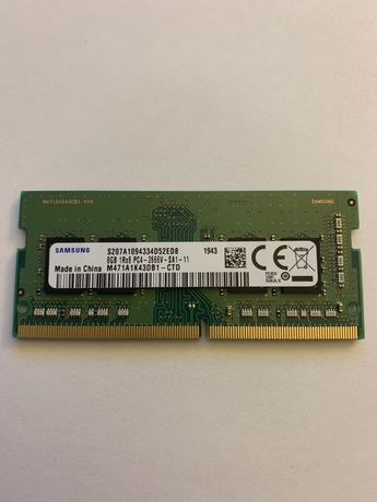 8GB 2666 1RX8 SAMSUNG PC4-2666V
