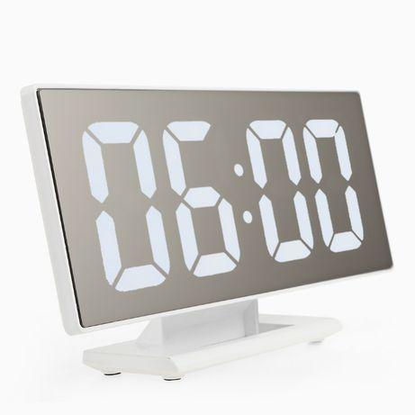 ZEGAR cyfrowy BUDZIK LED LUSTRO kalendarz TERMOMETR nowość!!!