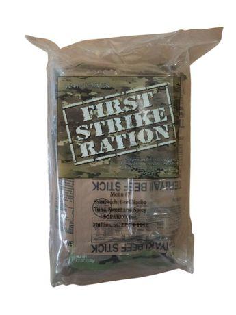 Суточный сухпай армии США - First Strike Ration, FSR,mre, ирп, airsoft