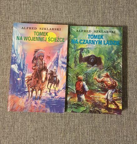 Książka Tomek na wojennej ścieżce i na czarnym lądzie