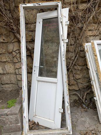Двери металлопластик х