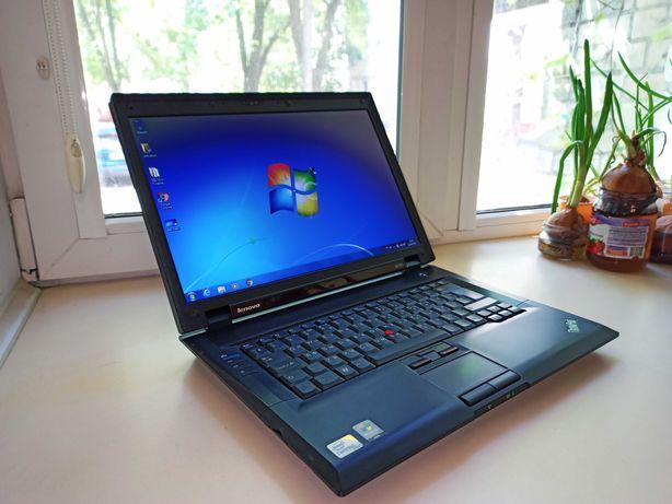 Ноутбук Lenovo ThinkPad SL500 (Intel 2x2GHz/RAM 2Gb/HDD 250Gb/АКБ 3ч.)