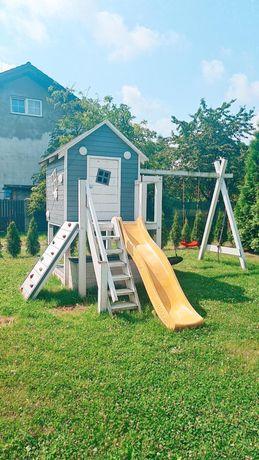 Domek ogrodowy,huśtawka dla dzieci