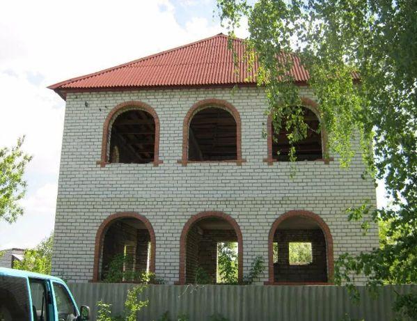 Продам недостроенный 2-х этажный дом 180 м2