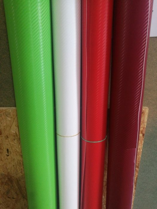 NOWY Folia carbon 3D różne kolory obklejanie motocykli i akcesorii tun