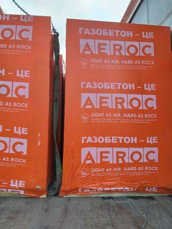 Газобетонні блоки ТМ AEROC.Всі розміри.Доставка+розвантаження!
