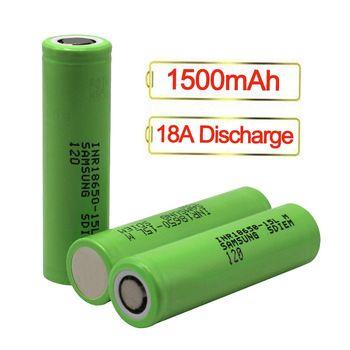 Аккумулятор высокотоковый Samsung INR18650-15Q/15 L - 1500mAh / 18A