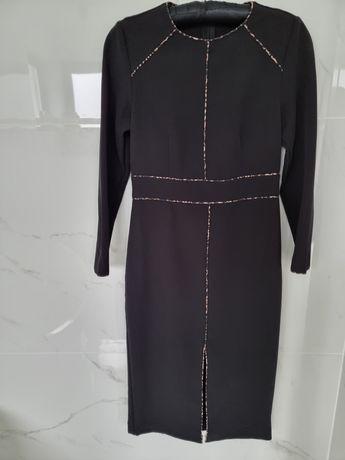 Sukienka czarna ZARA