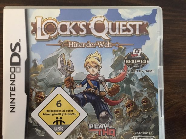 Nintendo DS Locks Quest