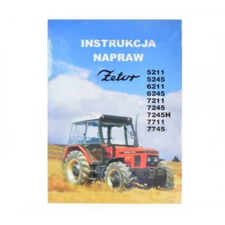 Instrukcja napraw Z5211; 7745 zetor Produkt krajowy