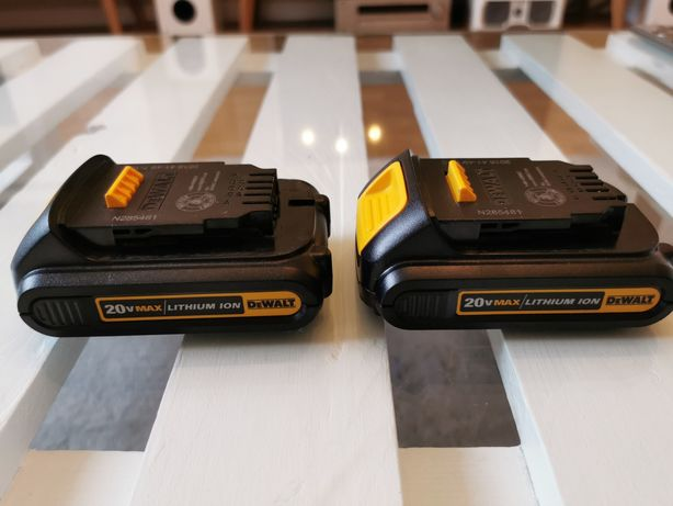 Baterie Dewalt 20v max (18v)